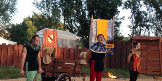 Présentation des légendes médiévales des saltimbanques cirkonflex